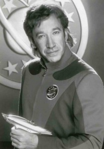 Galaxy Quest b&w still # 007 left